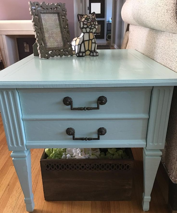 Another shot of our newly completed antique restoration - available locally on Craigslist: http://portland.craigslist.org/wsc/atq/5962182916.html #forsale #antique #antiquerestoration #homedecor #homefurnishings #endtable #nightstand #sidetable #storage #storagesolutions #shabbychic #mintgreen #vintage #vintagefurniture #vintagefurnitureforsale #vintagehardware #diy #diyproject #kittenmittencrafts