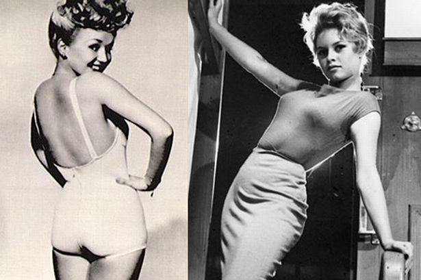 """Diet like it's 1959: the average woman's shape has gone from curvy hourglass to chunky """"apple"""" in 60 years."""