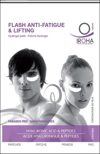 Iroha Flash Lifting & Anti Fatique Hydrogel Pads - Skin Care - Shen Beauty