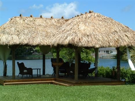 easy to build grass huts report content images image gallery swimming pools