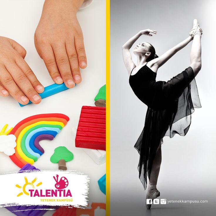 Baleden plastik sanatlar atölyesine kadar, sanat adına ne varsa #Talentia'da... #Talentia'da! #TalentiaYetenekKampüsü #Dans #Müzik #Sanat #Spor #yetenek #yeteneklerfora #yetenekkampusu #eğitim #kariyer #gelecek #talent #parti #bale #baleeğitimi