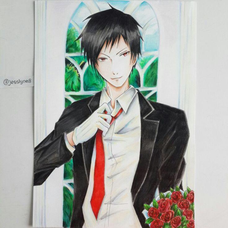 Izaya orihara #anime #animeart #animeartwork #art #artwork #izaya #izayaorihara #drrr #durarara #fanart
