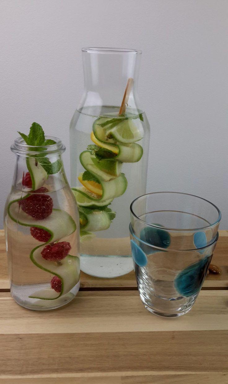 Nice way to serve water