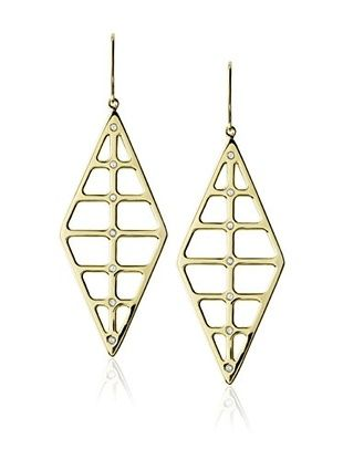 63% OFF Elizabeth and James Gold-Plated Berlin Double Window Earrings