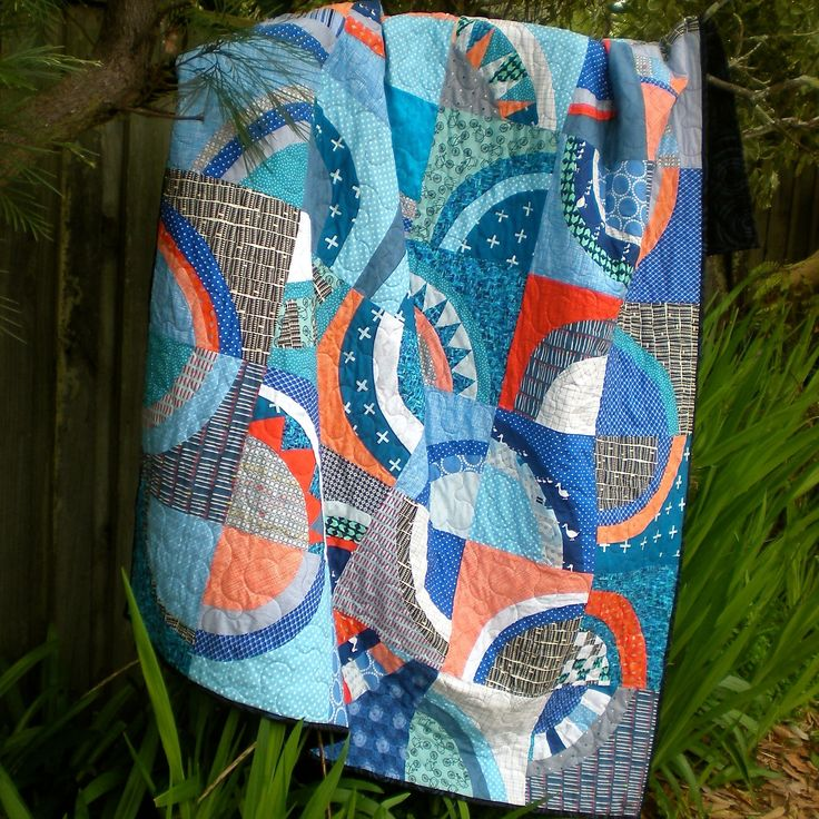 June 2016 David's 'moving in' quilt