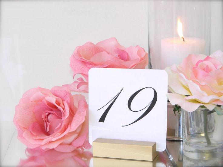Table Number Holder   Gold Table Number Holder   Gold Wedding Table Number Holders