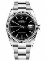 Rolex Datejust 36mm Acier Noir Cadran Oyster bracelet 116234 BKSO
