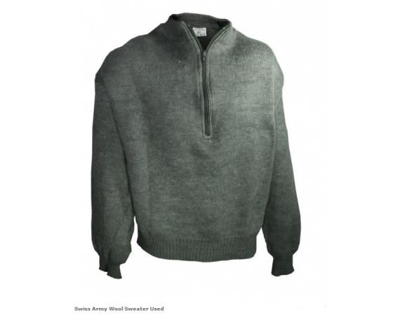 Swiss Army Wool Sweater - Used | Vermont's Barre Army Navy Store