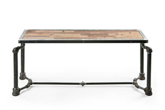 Steampunk wooden desk