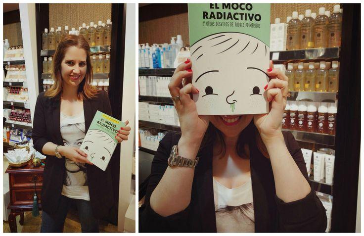 El Moco Radiactivo, el nuevo libro de Boticaria García que debes leer si eres un padre primerizo.