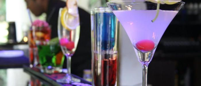 Hire cocktail glasses in Leeds  www.hireabarman.com