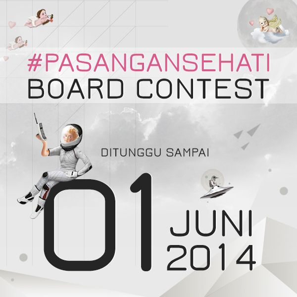 Periode Dream Date with #PasanganSehati Board Contest