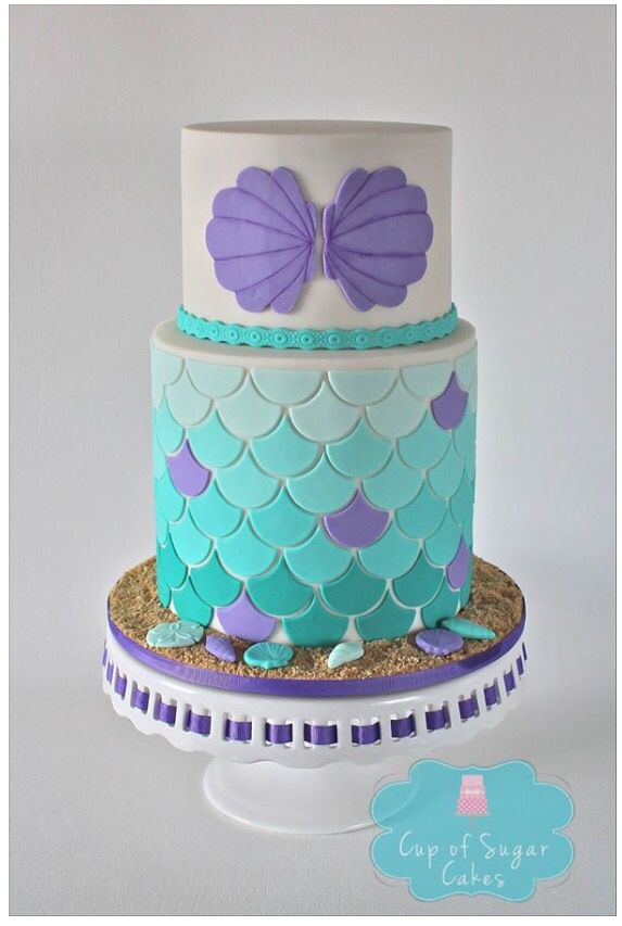 108 best Mermaid Cakes images on Pinterest Mermaid cakes