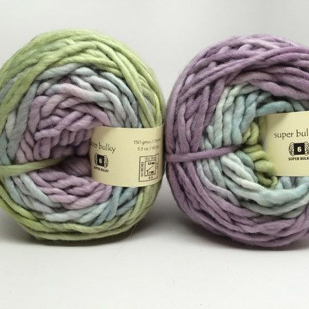 Freia Fine Handpaints Hand Painted Super Bulky Gradient Yarn. Super soft single ply. Their process creates a strong yarn that is lofty but with very little pilling. This yarn is dreamy! Weight: 5.3 oz