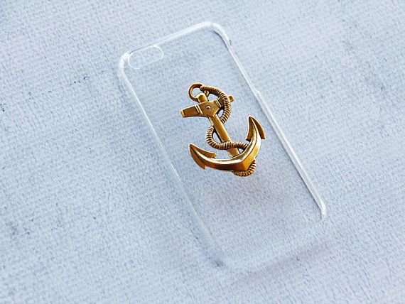 Clear iPhone 5c Case Cute iPhone 5c Case Anchor by CaseCavern, $15.99