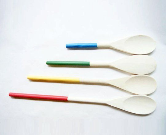 Rainbow Kitchen Spoons from Wind and Willow Home — Faith's Daily Find 06.26.12