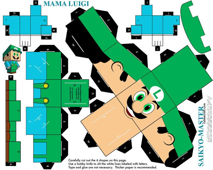 Mama Luigi (Meme) Cubeecraft