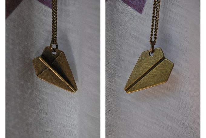 Paper Plane Necklace by Ever Dear - Accessories and Trinkets on hellopretty.co.za