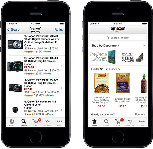 Amazon iPhone app Best shopping apps, Iphone apps