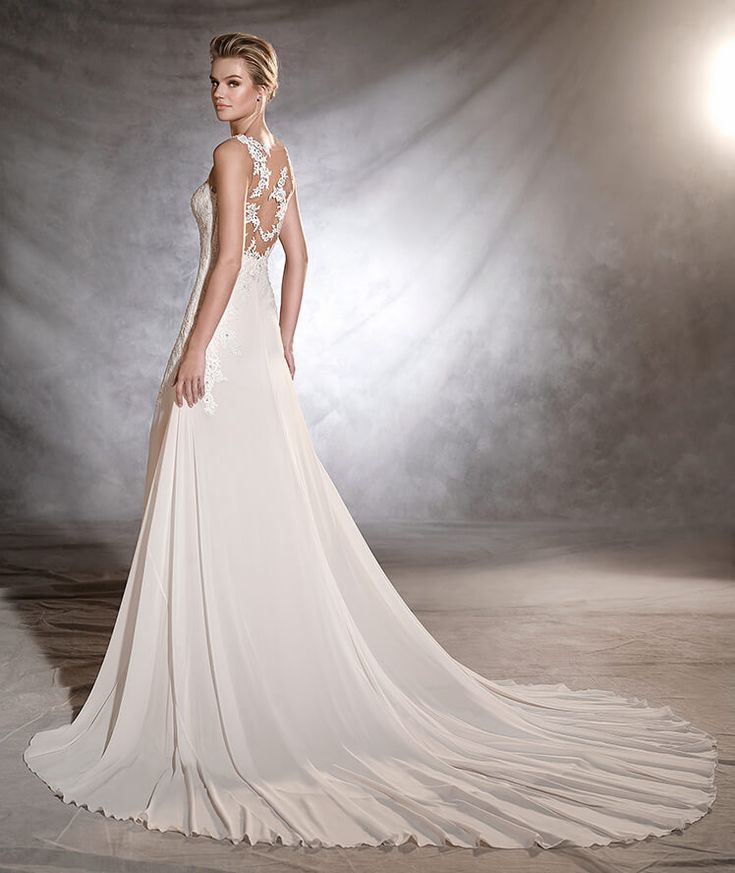 25 best vestidos images on Pinterest | Wedding frocks, Short wedding ...