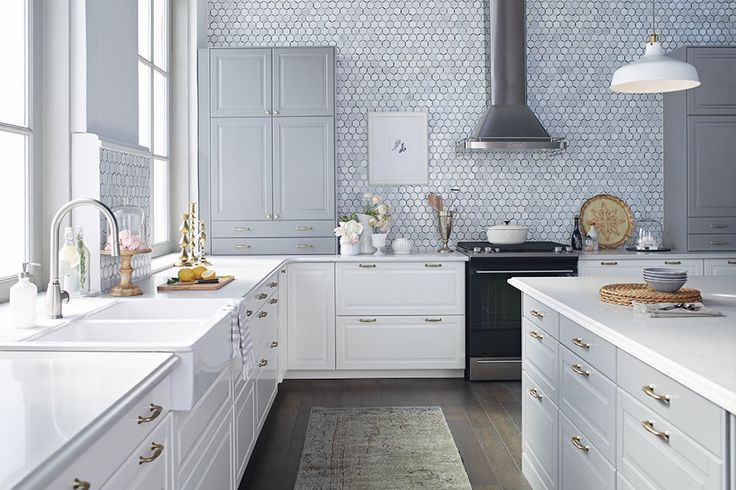 38 best images about ikea on pinterest country kitchens for Grey country kitchen