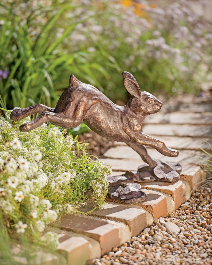 Exuberant Rabbit Sculpture Will Leap Into Your Heart