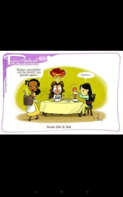Pocket princess.