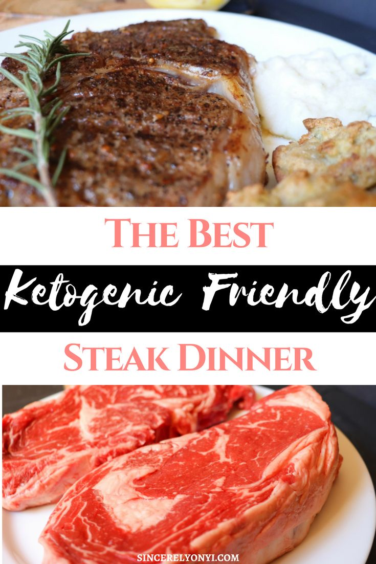 the best ketogenic friendly steak dinner nutraprice.Creating the perfect date night meal: A delicious and easy steak dinner recipe featuring keto friendly almond flour biscuits and cauliflower puree with the help of Nutraprice. Nutraprice.com is your answer for affordable organic, healthy products delivered to your home #ketorecipes #ketodiet #foodblog #foodmatters #steak
