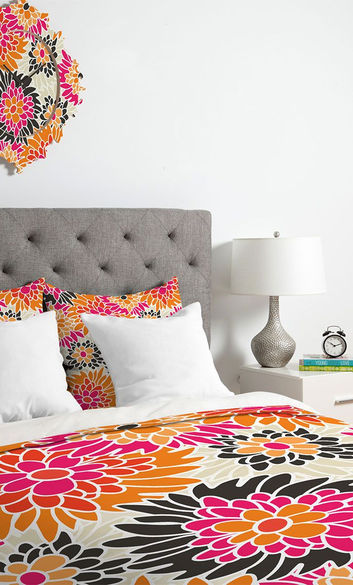 Turn your basic, boring down comforter into the super stylish focal point of your bedroom with this duvet cover! These duvet covers are ultra soft and amazingly comfortable. This duvet cover will make getting out of bed in the morning just a little big harder! Visit Wayfair and sign up today to get access to exclusive deals everyday up to 70% off. Free shipping on all orders over $49!