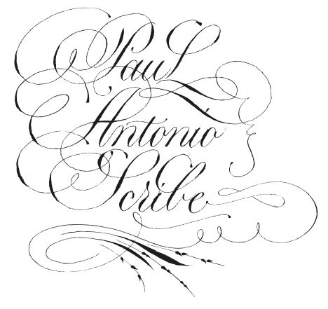 12 Best Copperplate Calligraphy Images On Pinterest