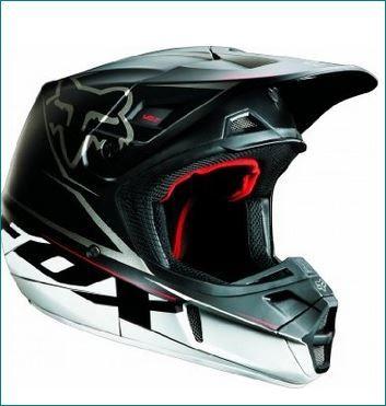 Fox racing motocross helmet