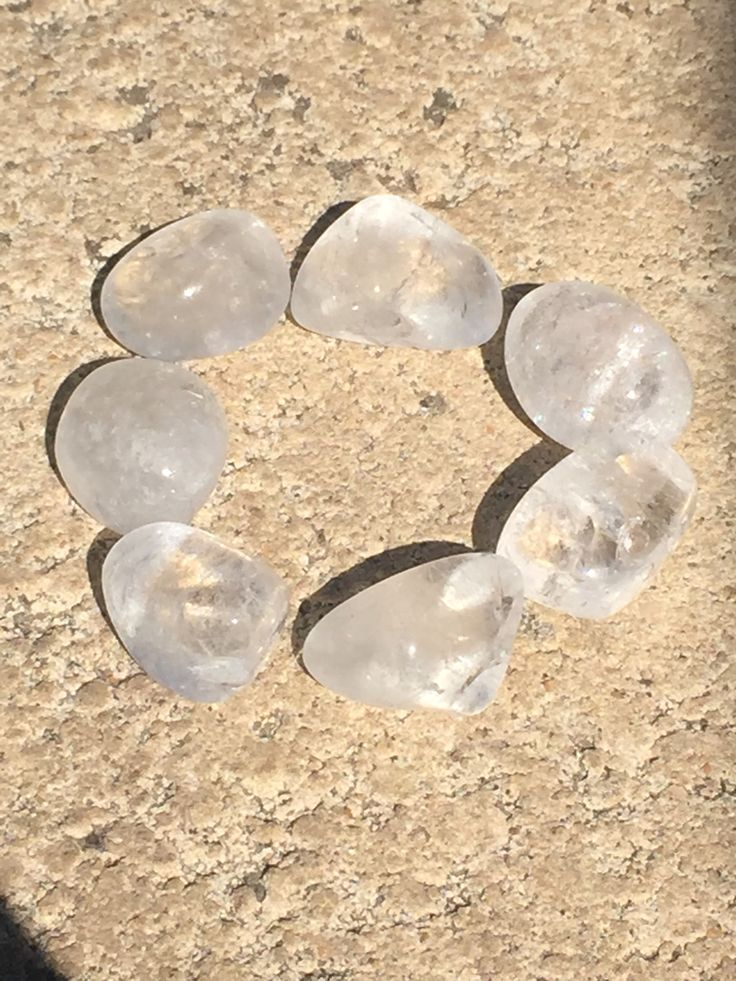 Clear Quartz crystal gemstone healing tumble stones. $3 each get them here http://www.divineaura.com.au/product/clear-quartz-tumble-stone/ or find me on Facebook @ www.facebook.com/divineaura123