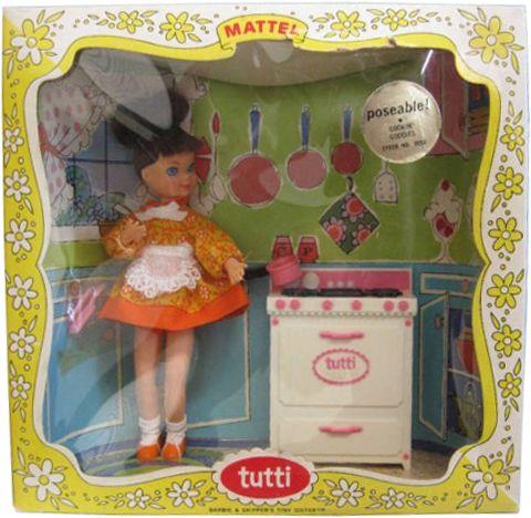 1967 Cookin'goodies Tutti doll 2 #3559