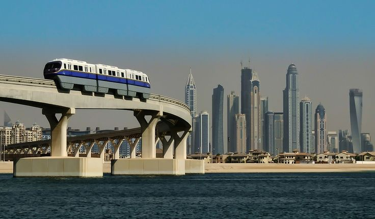 This train will take you directly to Atlantis the Palm