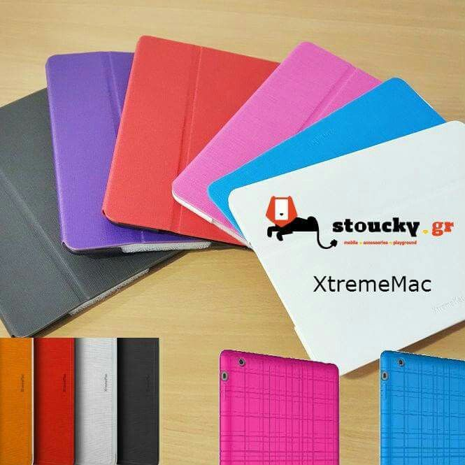 XtremeMac Θήκες για να ντύσετε το αγαπημένο σας Tablet. iPad Mini, Samsung Galaxy Tab S 10.5'' / Tab S 8.4'' / Tab 4 10.1'' / Tab 4 7'' Διαλέξτε τη δική σας ➜ http://goo.gl/Widuka