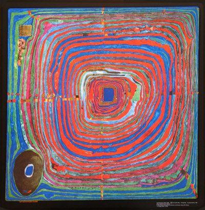 Googles billedresultat for http://cache2.allpostersimages.com/p/LRG/41/4169/AI8UF00Z/posters/hundertwasser-friedensreich-the-big-way.jpgHundertwasser Painting, Art Prints, Fine Art, Hundertwasser 11999,  Labyrinths, Artists Wall, Friedensreich Hundertwasser, Inspiration Art, Hundertwasser Art