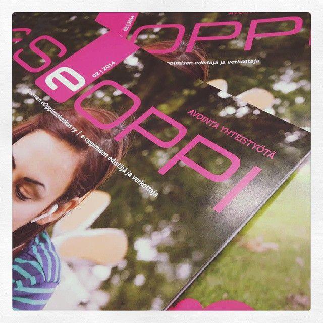Uunituore #SeOppi-lehti saapui juuri painosta, pian myös digijakelussa