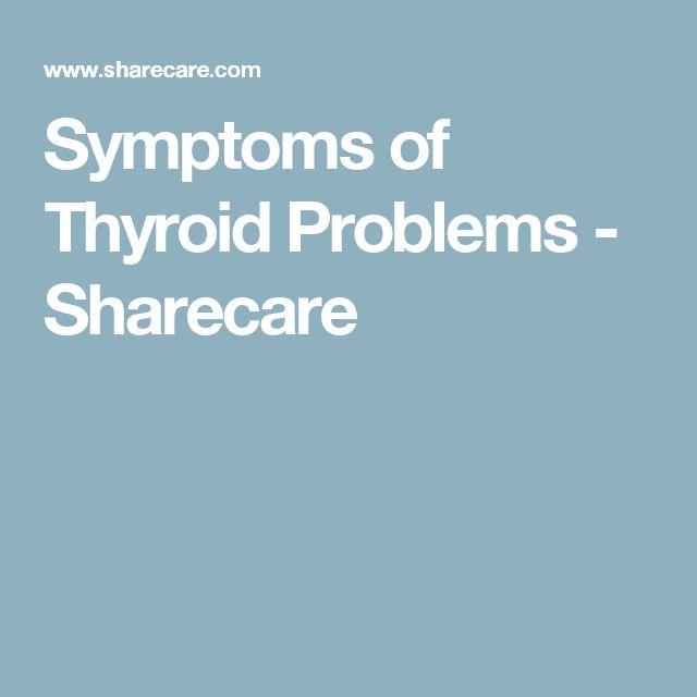 Symptoms of Thyroid Problems - Sharecare