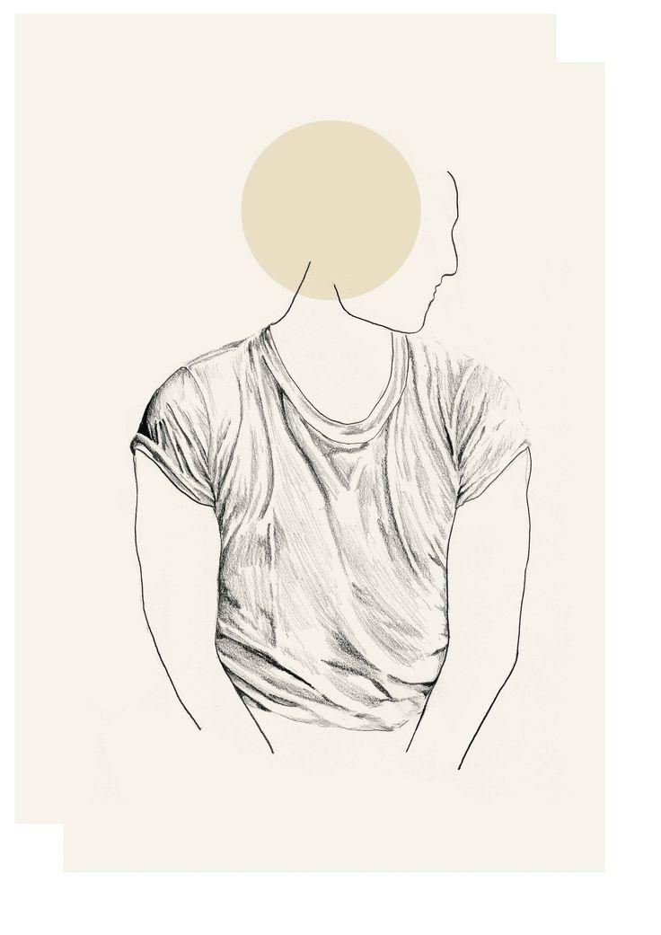 T-shirt shadows, Sketchbook - Lindsay Lombard