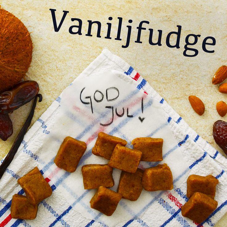 Pepparkakor och vaniljfudge! Veganska, glutenfria och sockerfria. Recepten finns i meny 21. 😊❤️  www.allaater.se