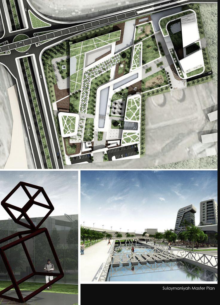 ekconcept - Sulaymaniah park master plan