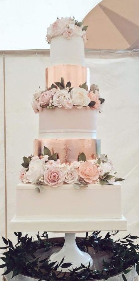 Favorit 50+ Gold Hochzeitstorten Ideen   – Birthday cake