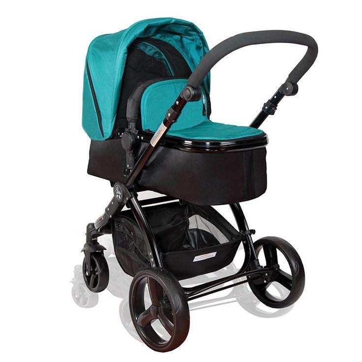 Deluxe Stroller System - Teal   Convertible stroller ...