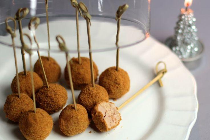 Une recette inratable de Sucettes de foie gras au pain d'épices au Thermomix sur Yummix • Le blog dédié au Thermomix !