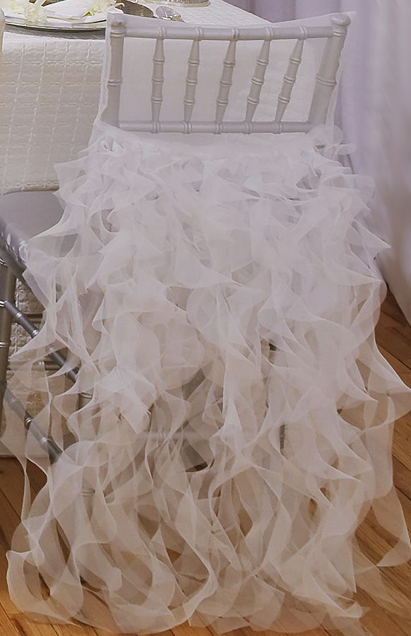 chair cover, preston bailey event ideas - from Designing Linens and Wild Flower Linens to accompany the chosen centerpiece.