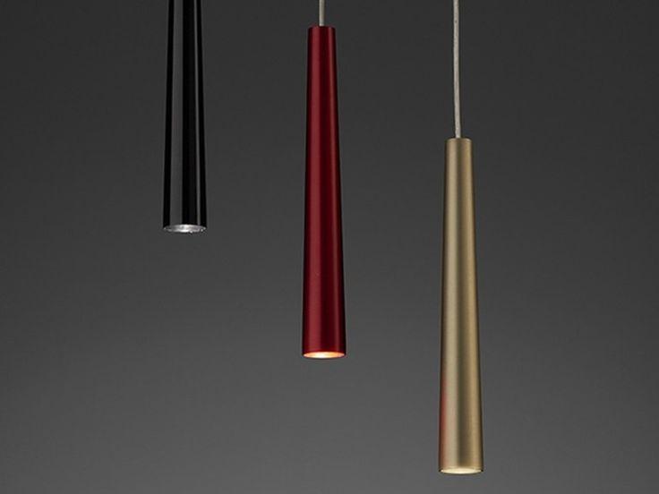 Nice LED direct light aluminium pendant lamp Flute PURALUCE
