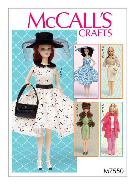 The 137 best Vintage,retro and current teen doll clothes sewing ...
