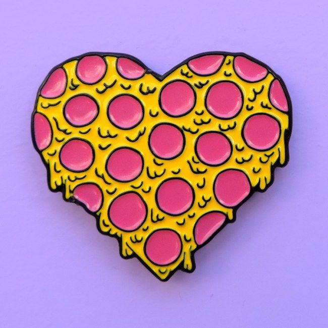 Aposte nos broches | Pizza