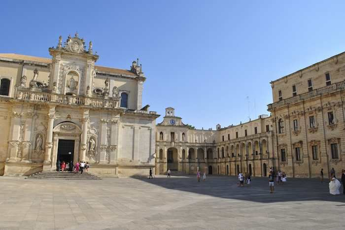 Take the train to the wonderful city of Lecce