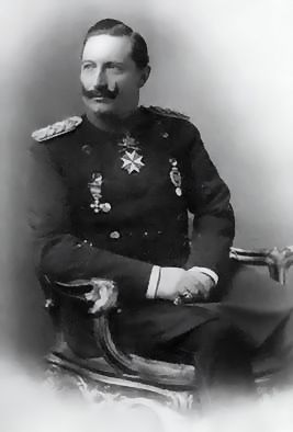 the German emperor, king Wilhelm II v. Prussia